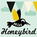 Miss Honeybird stempels