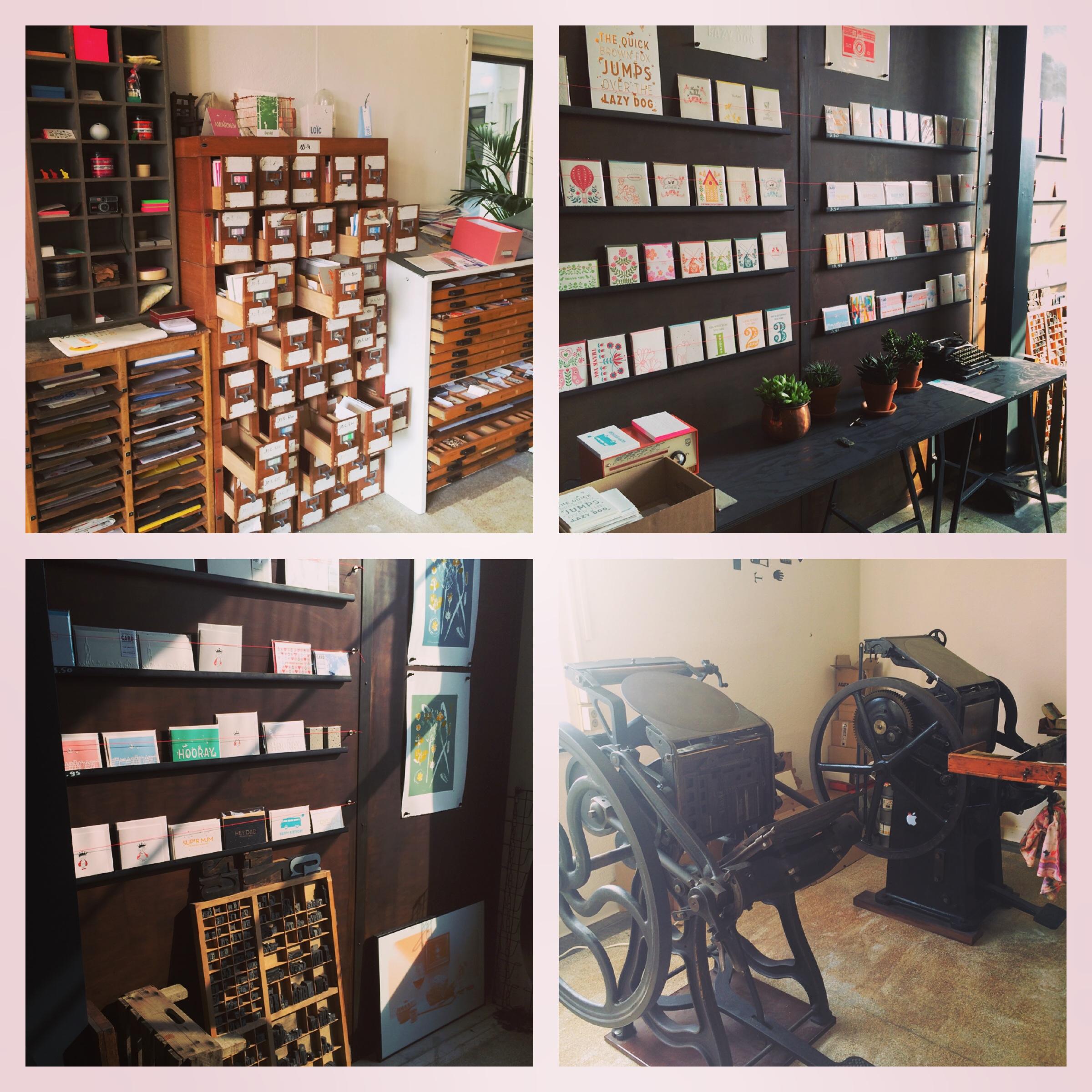 Letterpers drukkerij en studio in Amersfoort Prodentfabriek