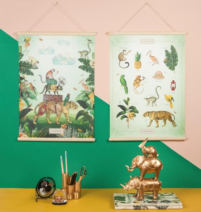 Mooie posters van Pimpelmees