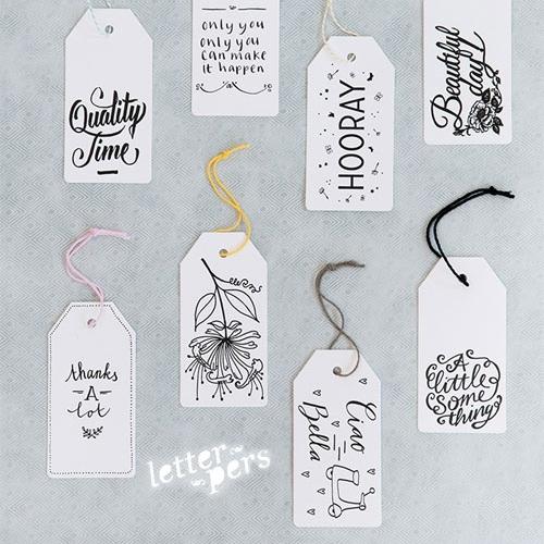 Gifttags HappyMakersBlog!