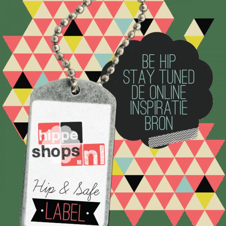 Hippe & Safe label ontvangen!
