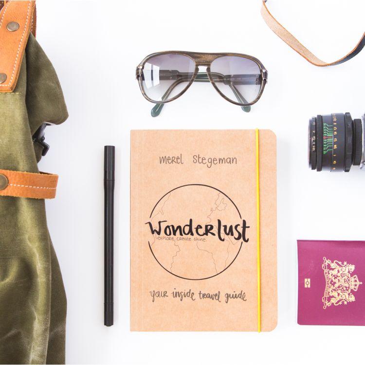 Nieuw: Wonderlust, een reisjournal voor de vrouw