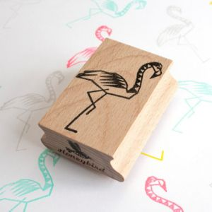 Stempel Flamingo (groot), Miss Honeybird 3