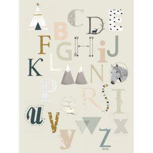 ABC A6 of A5 kaart Minimel 1