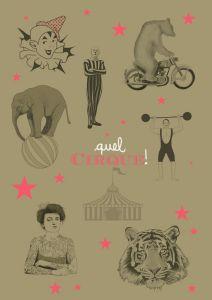 A2 poster circus Minimel 2