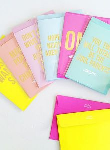 OMG you rule kaart, Studio Stationery 2