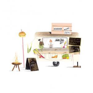 Foodtruck kaart, Ruth Hengeveld 1