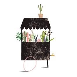Planten kraam kaart, Ruth Hengeveld