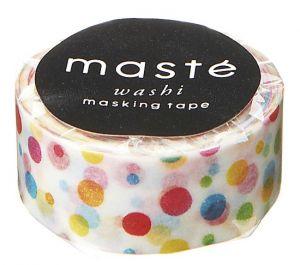 Maskingtape gekleurde confetti Masté