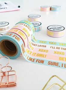 "Maskingtape ""Sure, i like fun"" Studio Stationery 3"