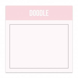 Mini blok doodle Studio Stationery 1