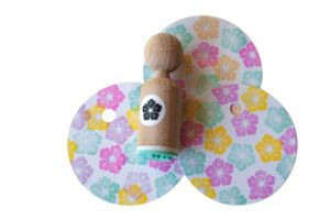 Mini stempel detail bloem Miss Honeybird 2