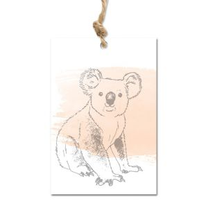 Cadeaulabel koala, Love Sam