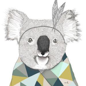 A3 poster koala Minimel 1