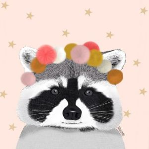 A3 poster wasbeer pompon Minimel 1