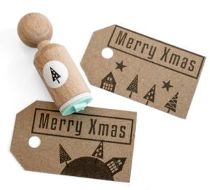 Mini stempel boom (driehoek) Miss Honeybird