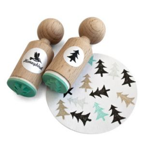 Ministempel kerstboom, Miss Honeybird 1