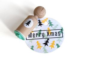 Ministempel kerstboom, Miss Honeybird 3