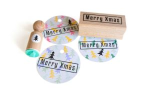 Ministempel kerstboom, Miss Honeybird 4