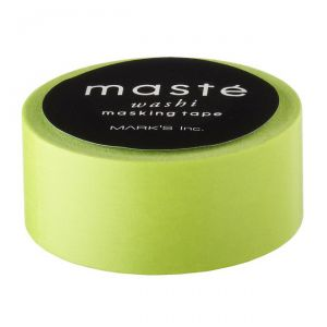 Maskingtape lime Masté