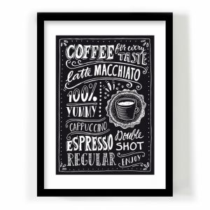 A4 poster Coffee for every taste Paperfuel