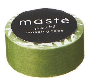 Maskingtape olijfgroen, Masté