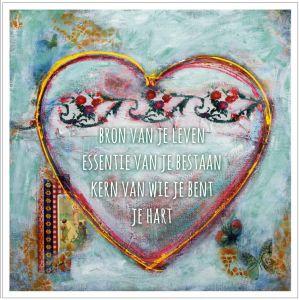 Kunst kaart je hart, Anna & Evie 1