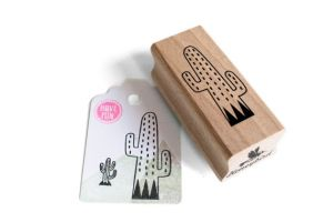 Stempel cactus streepjes, Miss Honeybird 2