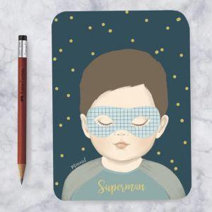 A6 kaart Superman, Minimel