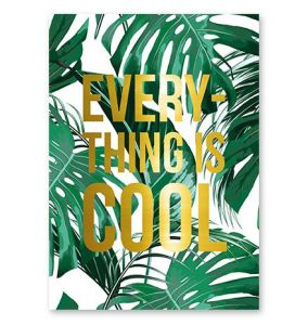 Kaart everything is cool, Studio Stationery 1
