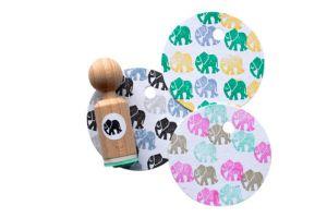 Mini stempel olifant, Miss Honeybird 2