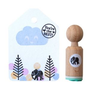 Mini stempel olifant, Miss Honeybird