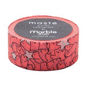 Maskingtape ijsbeer neon rose Masté
