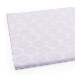 Vloeipapier wit met rose 1