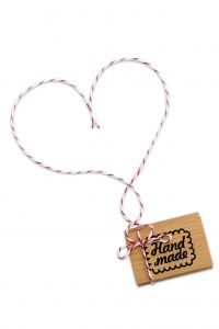 Handmade cookie stempel, Miss Honeybird 2