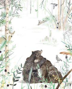 Kaart knuffelende beren, Ruth Hengeveld 2