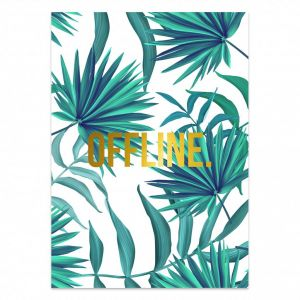 Poster offline jungle, Studio Stationery 1