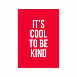Kaart Cool to be kind, Studio Stationery 1