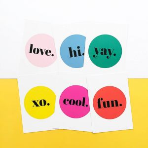 Kaart Cool, Studio Stationery 2