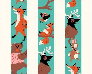 Washitape Wild Woods, Marijke Buurlage Illustration 4