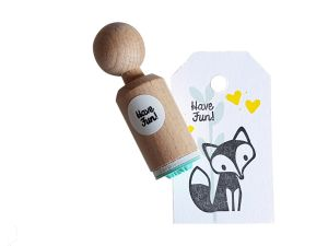 Ministempel Have Fun (geschreven), Miss Honeybird 1