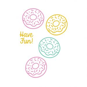 Ministempel Have Fun (geschreven), Miss Honeybird 3