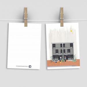Kaart kopje suiker, Studiozwaanstraat 2