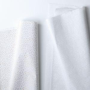 Zijdevloeipapier grijs of goud patroon 1