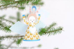 Papieren vouw engeltjes - Sing too Jurianne Matter 6