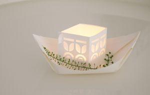 Papieren licht bootjes - Rejse Jurianne Matter 1