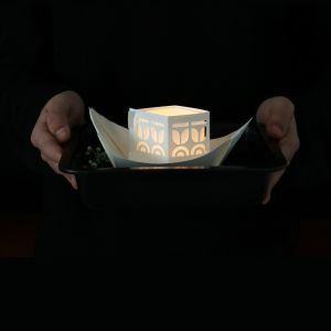 Papieren licht bootjes - Rejse Jurianne Matter 5