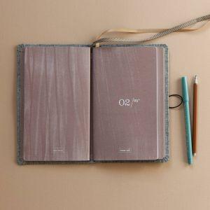 Luxe notitieboek Moss Agate, Tinne+Mia 4