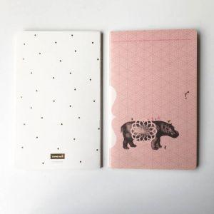 Set 3 notitieboekjes Tinne+Mia 4