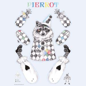 A3 Trekpop poster pierrot, Cebine 1